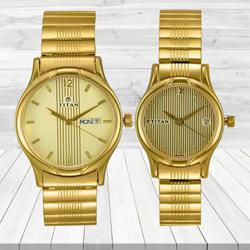 Marvelous Titan Bandhan Analog Watch for Couple to Abohar