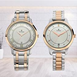Exquisite Titan Analog Watch for Men N Women to Adugodi