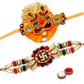 An Elegant Rakhi Sets  to Nakoda