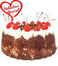 Black Forest Cake from Taj / 5 Star Bakery. to Udaipur